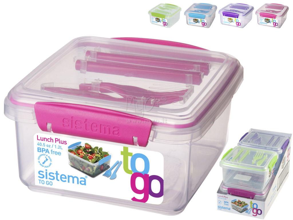Porta pranzo con posate acquista in myo s p a cancelleria - Porta pranzo tiger ...